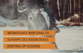 Winteractie motoronderhoud, motorkleding en motoracceessoires