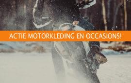 Actie Motorkleding en Occasions