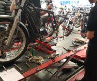 Suzuki VS800 Intruder custom bike Paddock Build