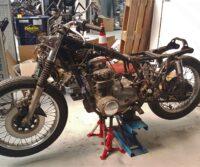 Honda CB500 Four custom bike Paddock Build