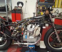 Honda CX500 custom bike Paddock Build