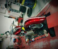 Yamaha XV1Z600 Wildstar custom bike Paddock Build