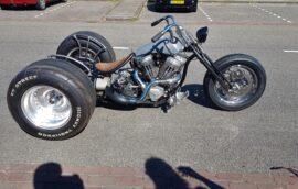 Indian Trike custom bike Paddock Build