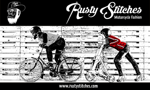 Rusty Stitches Motorkleding Vintage