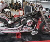 Yamaha XVS650 custom bike Paddock Build